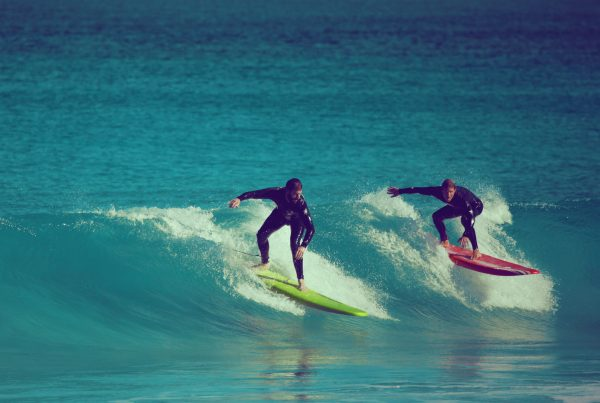 surfing in Margaret River