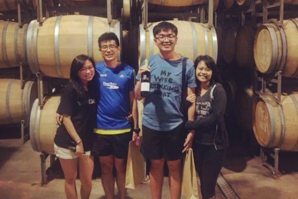 wine barrels pic
